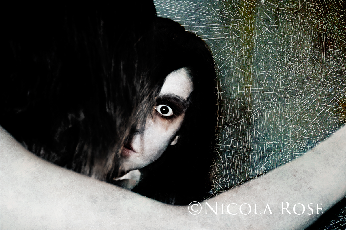 When you'd rather stare into the eyes of a Yurei than the blank page awaiting words…